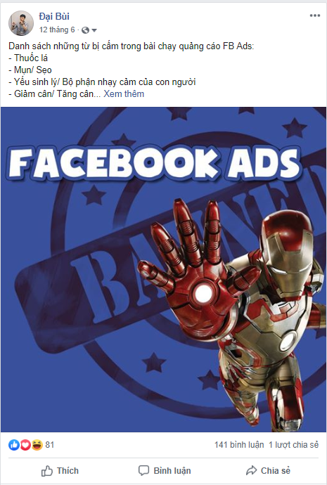 Nguyên nhân tài khoản Facebook bị tụt reach, bóp reach, không có tương tác